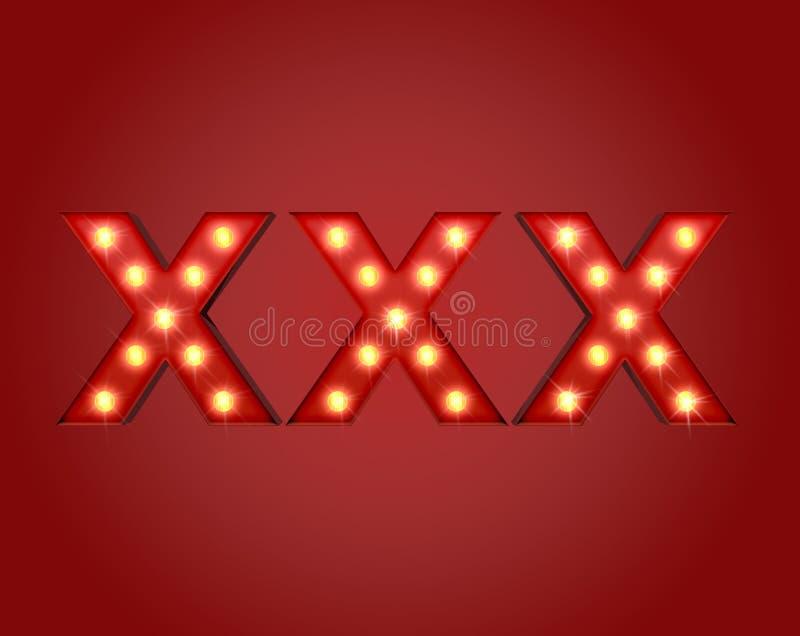 XXX Adboard photo stock