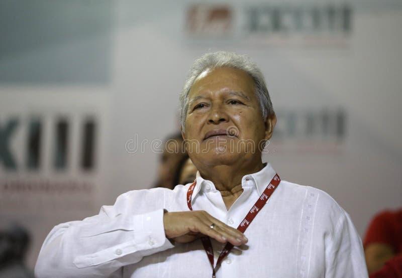 XXXIII Convención Nacional del FMLN foto de archivo libre de regalías