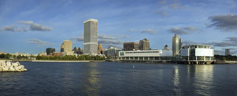 XXXL panoramischer Milwaukee stockbild