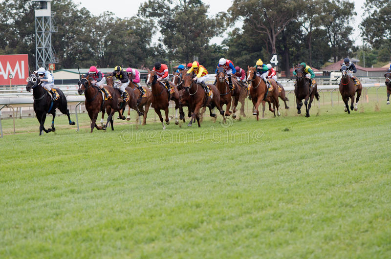 XXXX Gold Strawberry Road Handicap royalty free stock image