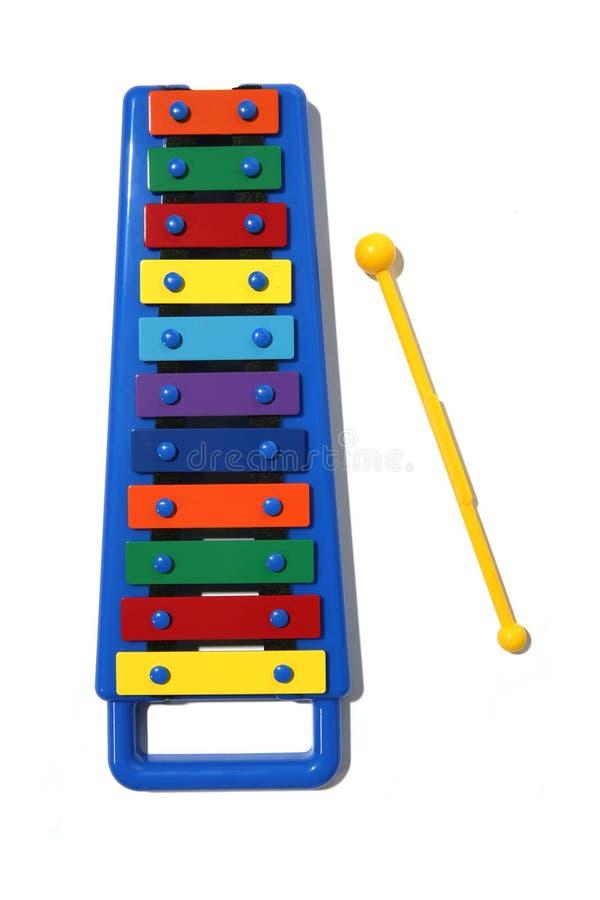 Xylofoon stock afbeelding