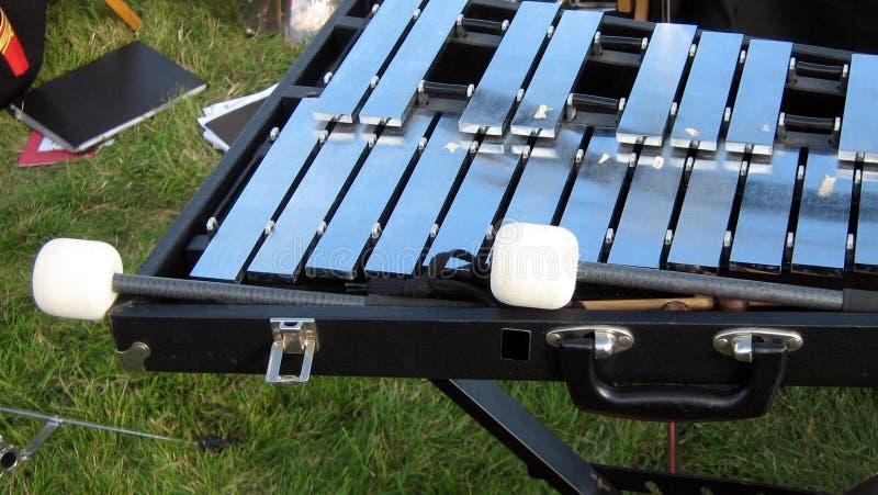 Xylophone και ραβδιά στοκ εικόνα με δικαίωμα ελεύθερης χρήσης