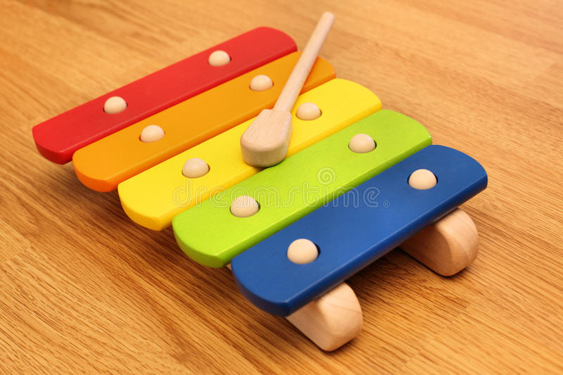 Download Xylophone stock photo. Image of elementary, bang, colorful - 15085250