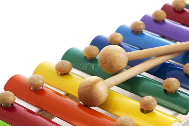 Xylophone imagem de stock royalty free