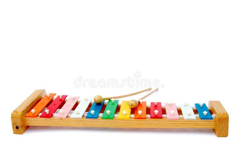 Xylophone imagem de stock