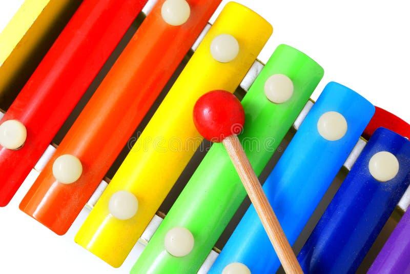 xylophone stock afbeelding