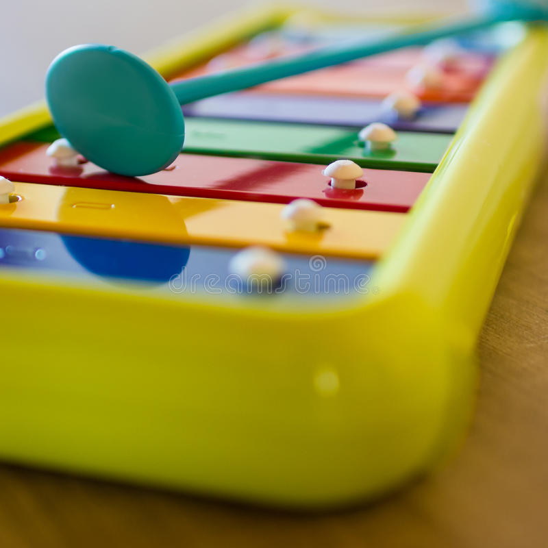 xylophone lizenzfreie stockbilder