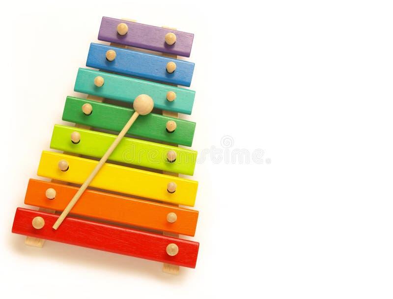 Xylophone photographie stock libre de droits