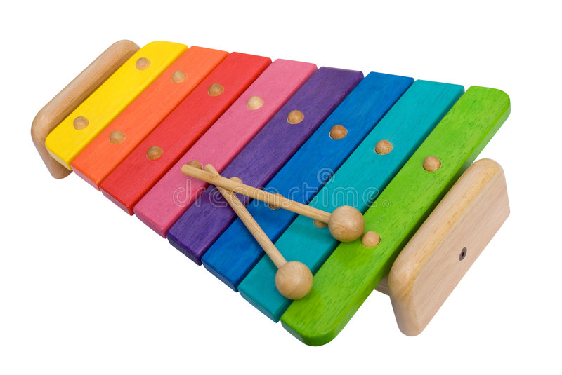 Xylophone royalty free stock image