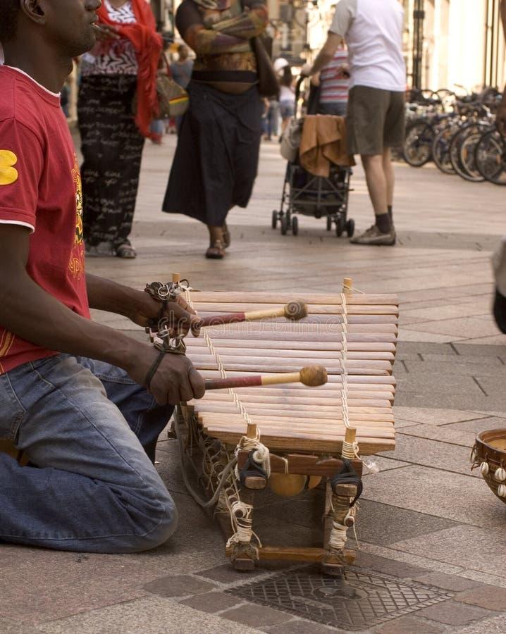 Xylophone africano (0329) fotos de stock royalty free