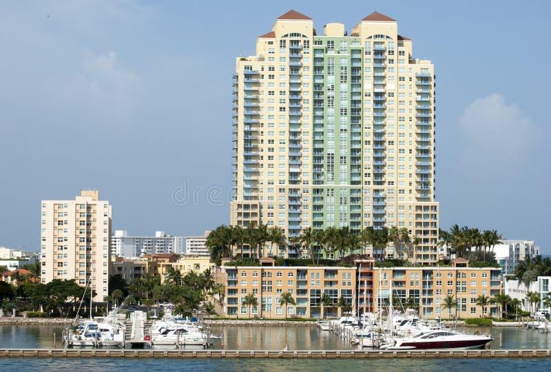 Żyć W Miami plaży obrazy royalty free