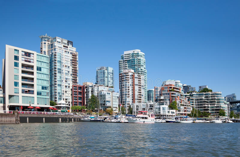 Żyć w Vancouver obraz royalty free