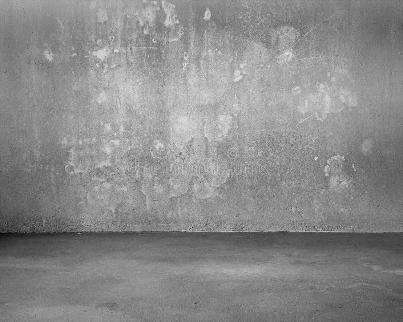 Żyłkowany betonowy pokój dla tła obrazy stock