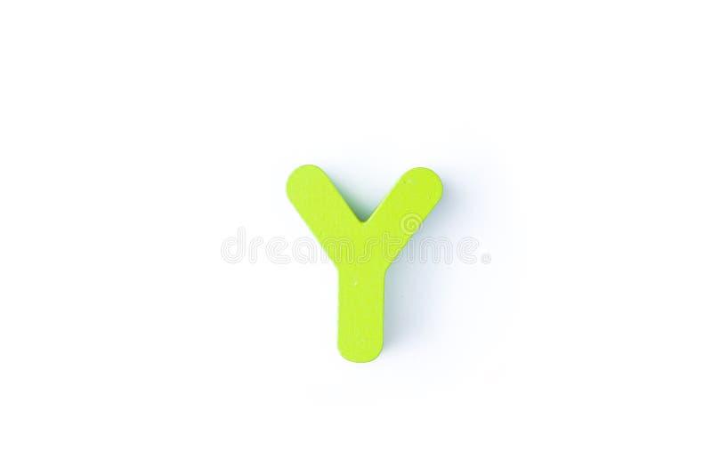 Y信件用英语 库存图片