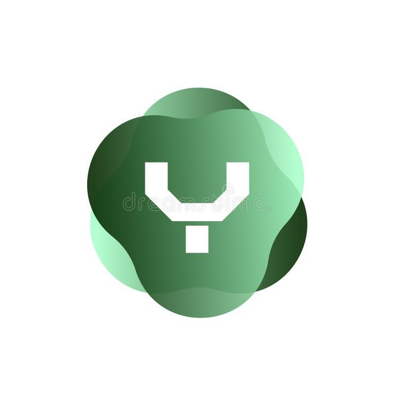 Y-Buchstabe-Logo lizenzfreie abbildung