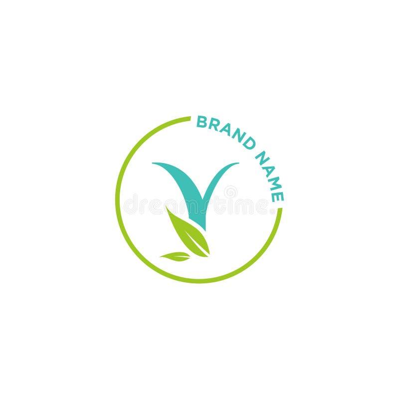 Y-Buchstabe-Logo oder Initialen für Geschäft stock abbildung