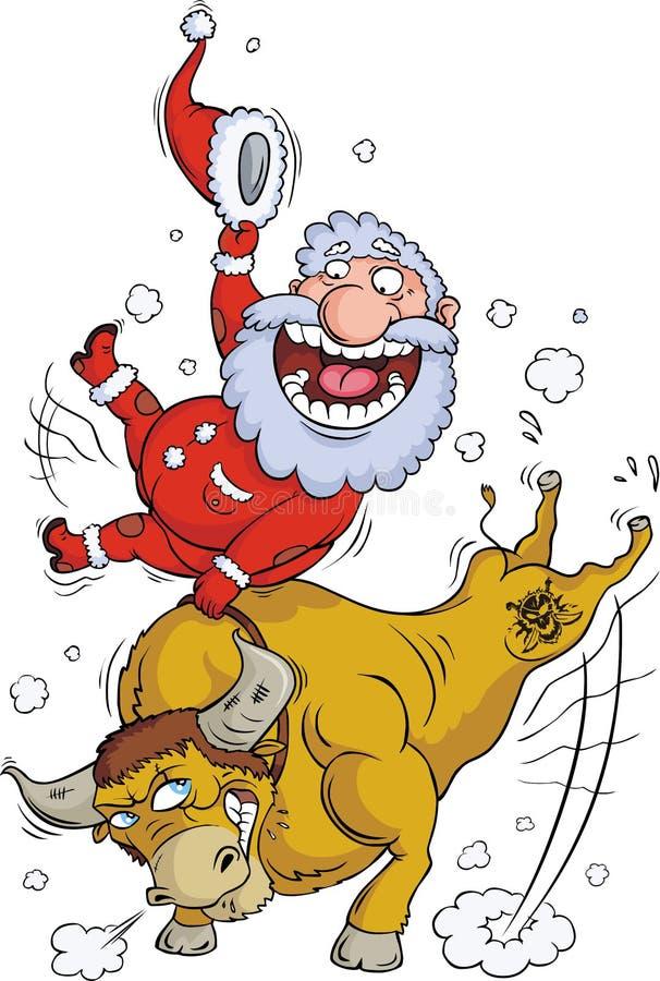 Download Y-ya-a-A-HA-a!!! stock vector. Image of santa, positive - 7547017