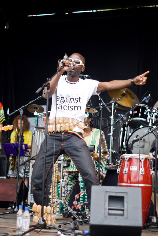 Yaaba Funk in Concert. stock image