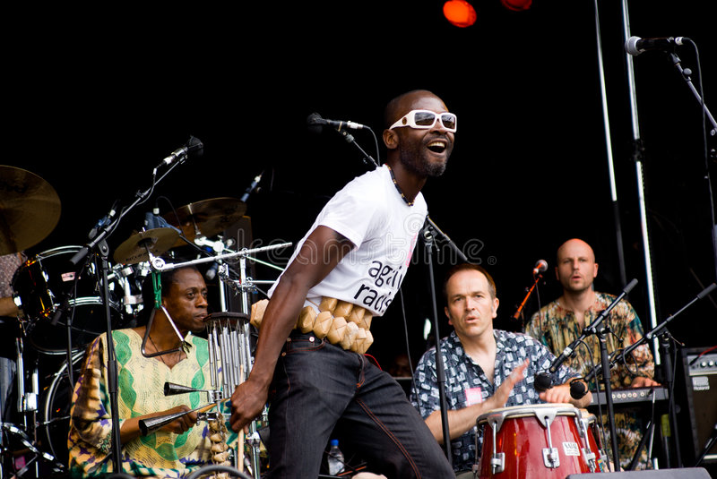 Yaaba Funk in Concert. Rise Fe stock photos