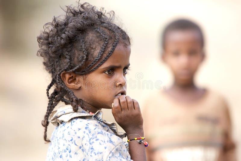 Niño etíope fotografía de archivo libre de regalías