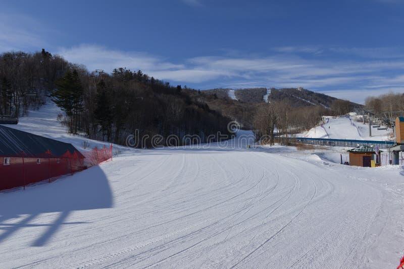 Yabuli ośrodek narciarski obraz royalty free