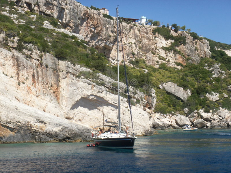 Yacht images stock