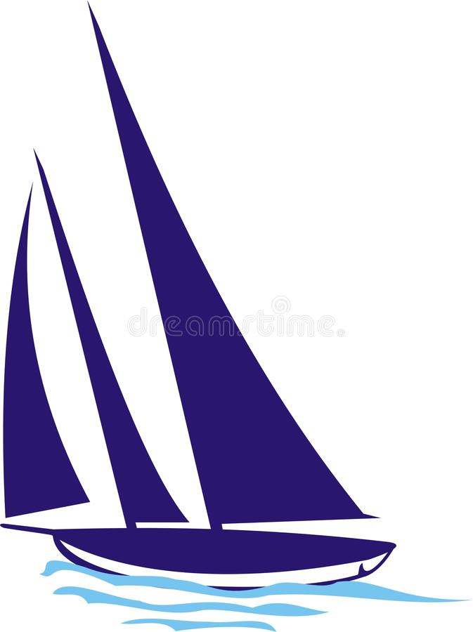 Download Yacht stock vector. Illustration of yachtsman, ocean - 14743937