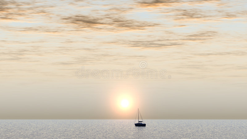 Download Yacht stock image. Image of departure, marina, ocean, background - 1480465