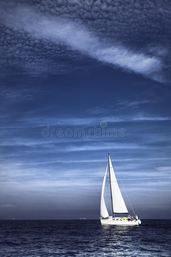 Download Yacht stock photo. Image of nautical, voyage, seascape - 16496610