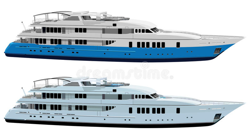 Download Yacht stock vector. Image of liner, destination, leisure - 16942595
