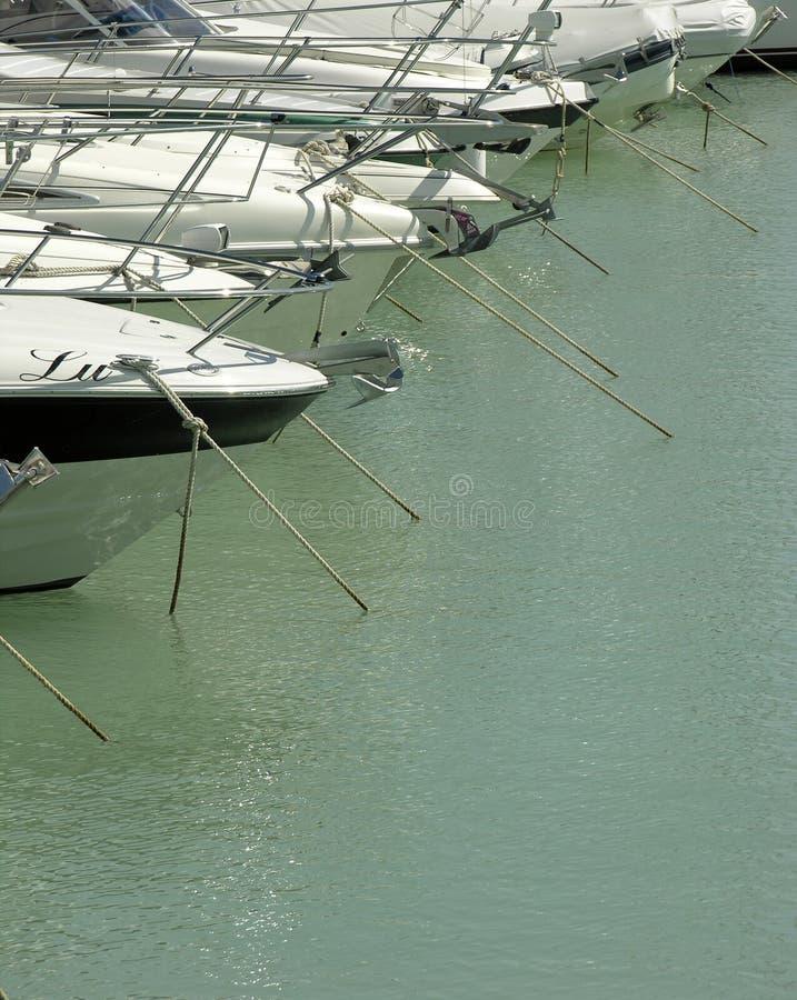 Yacht fotografia stock