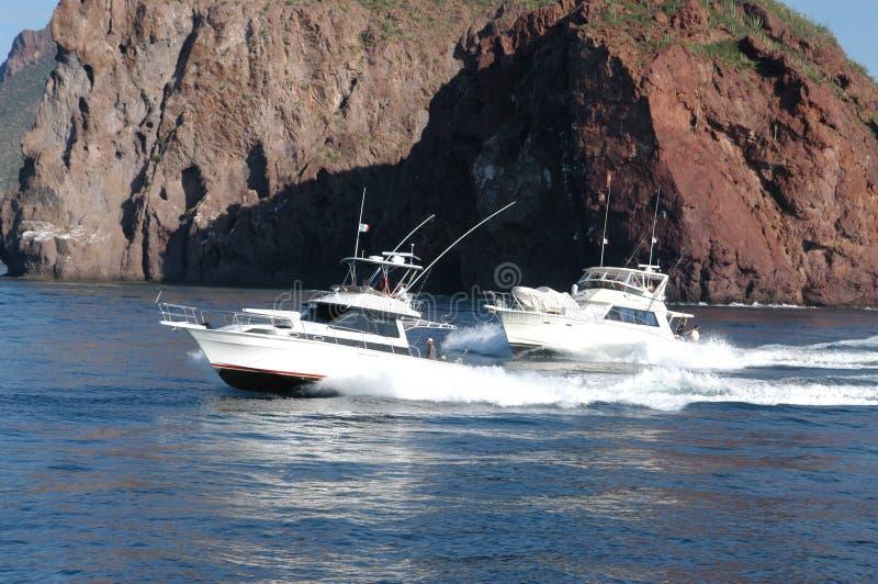Yacht 2 immagine stock libera da diritti