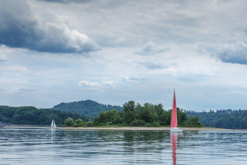 Yacht image libre de droits
