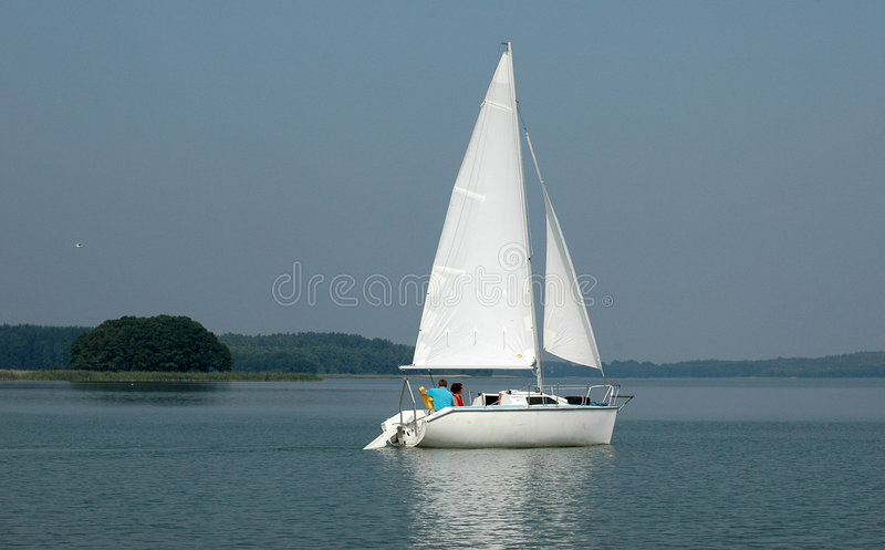Yacht royalty free stock image
