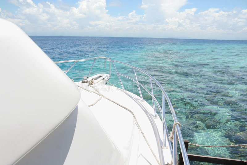 Download Yacht stock image. Image of pleasure, moor, expense, relax - 7025043