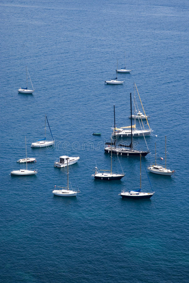 Download Yacht Boats In Mediterranean Sea Stock Photo - Image: 31570534