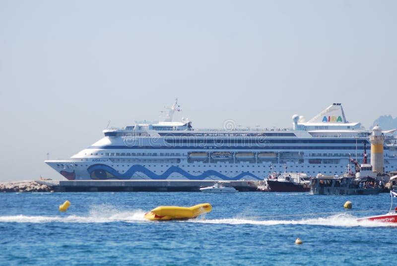 Yacht Britannia, véhicule, paquebot, bateau, bateau du ` s de Sa Majesté de moteur images stock