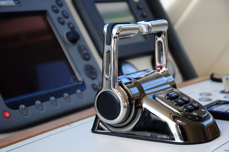 Download Yacht cabin stock image. Image of handle, dashboard, gear - 16483343