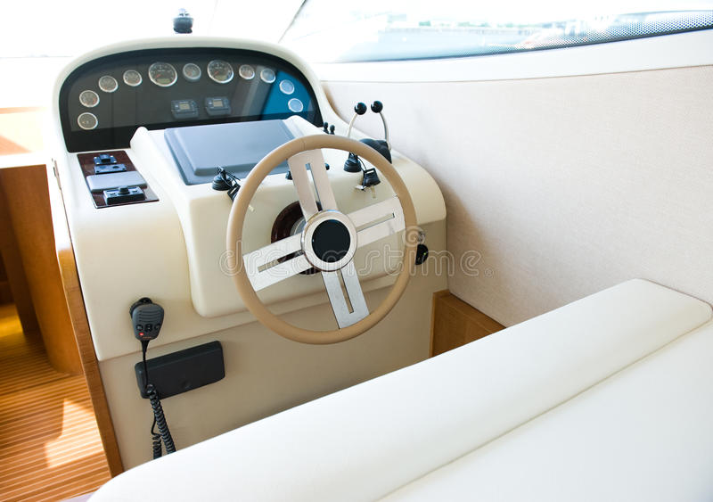 Download Yacht cabin stock image. Image of floating, control, leisure - 16764069