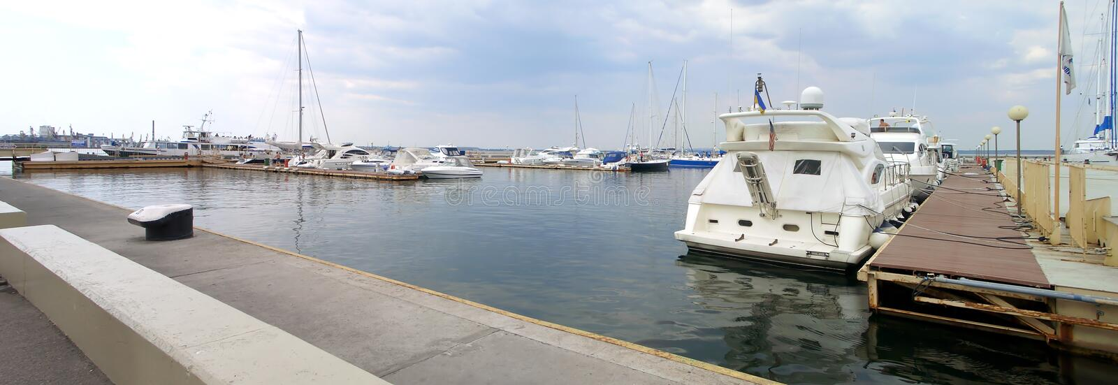 Yacht-club royalty free stock photography