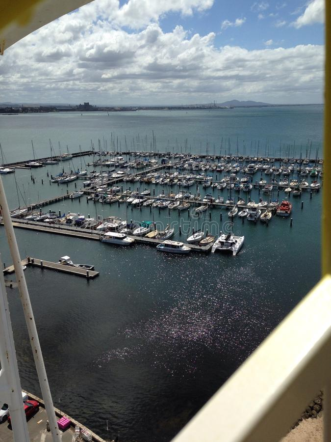 Yacht club fotografia de stock royalty free