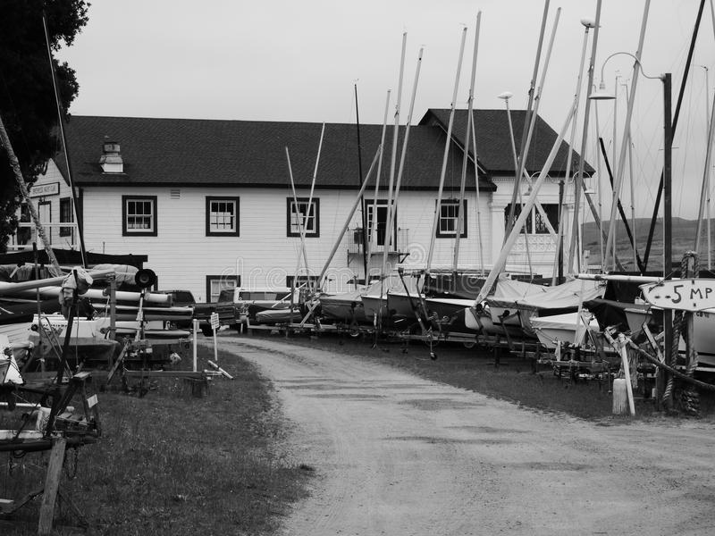 Yacht club di Inverness fotografie stock libere da diritti