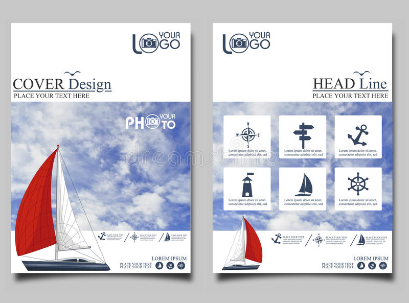 Yacht club flyer design template stock illustration download yacht club flyer design template stock illustration illustration of marketing flyer toneelgroepblik Image collections