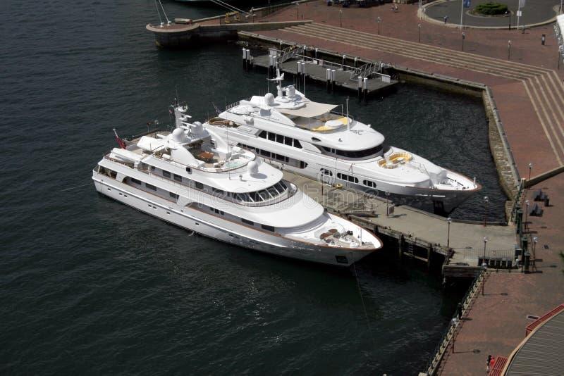 yacht de bateau photos libres de droits