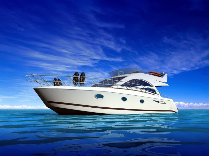Yacht de luxe illustration libre de droits