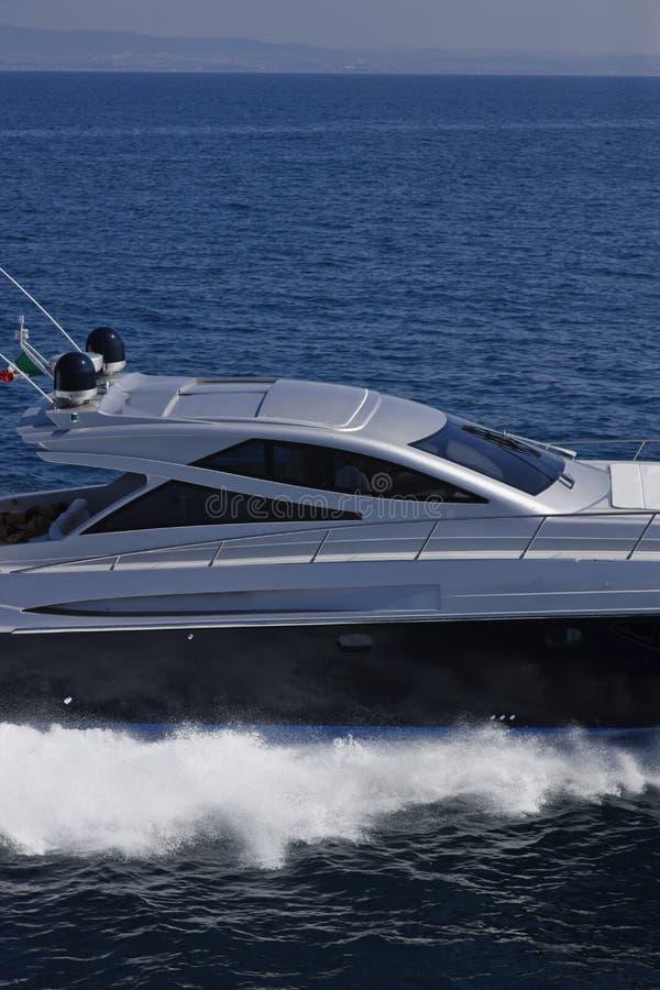 Yacht de luxe Alfamarine 60 ' images libres de droits