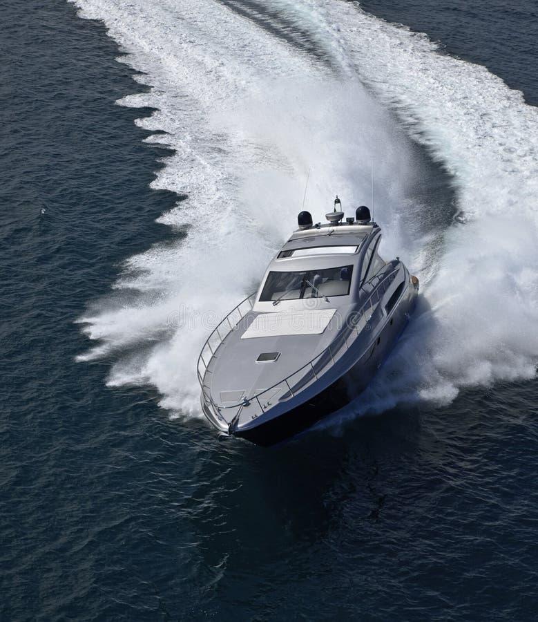Yacht de luxe Alfamarine 60 ' image libre de droits