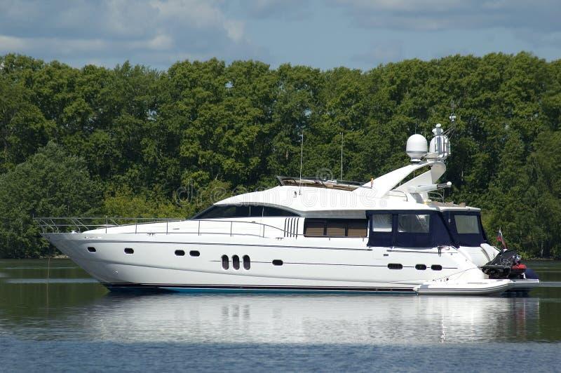 Yacht de moteur photos libres de droits
