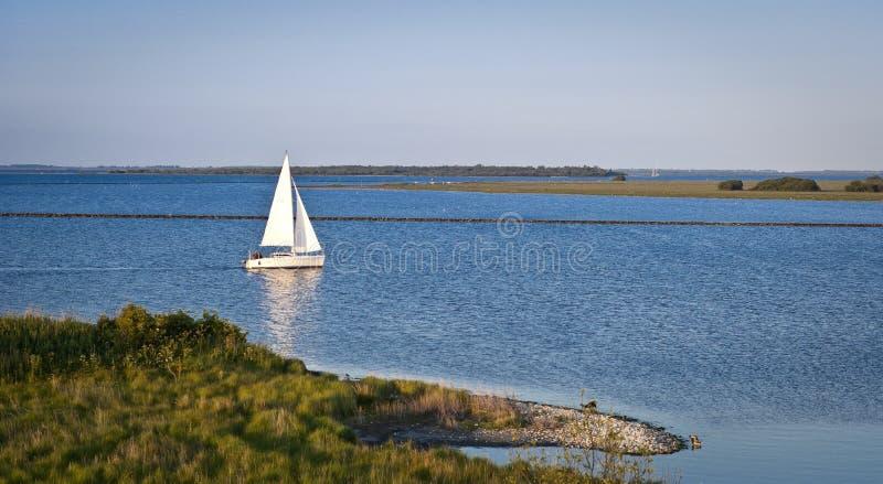 yacht de navigation photo libre de droits