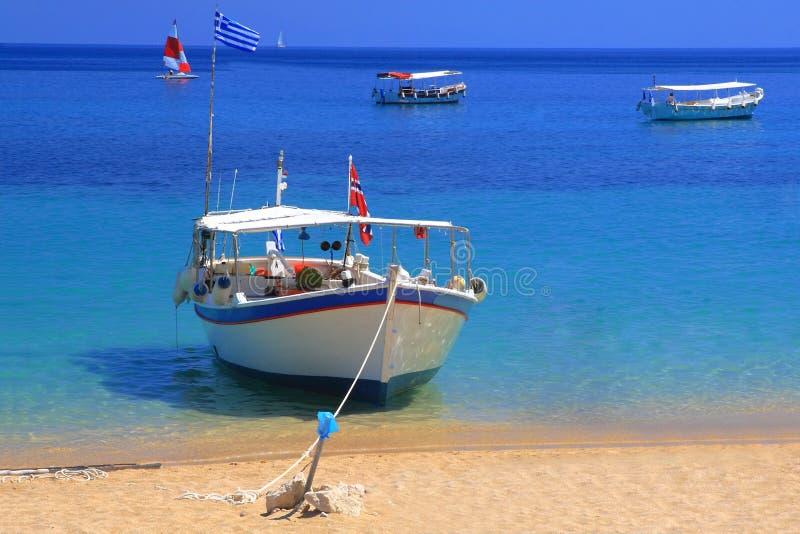 yacht de navigation photographie stock